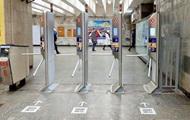 """В метро Киева заменят турникеты, которые """"бьют"""" пассажиров"""