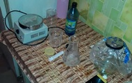 На Донбасі студент-медик виготовляв удома психотропи
