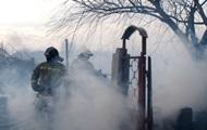 Сильный ветер мешает пожарным справиться с возгоранием камыша в Одессе