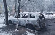 Под Киевом сгорел автомобиль депутата