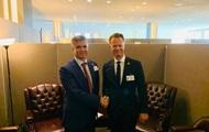 Глава МИД Дании едет с визитом в Украину