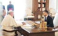Зеленский попросил Папу помочь освободить пленных