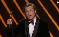 Брэд Питт получил первый Оскар в карьере