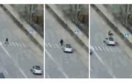 В Днепре водитель авто, скрываясь от копов, сбил троих пешеходов: есть погибший