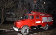 В Хмельницком прошла массовая эвакуация жильцов горящего дома