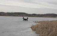 На Харківщині рибалки двічі за день провалювалися під лід, є жертва