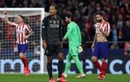 Атлетико нанес Ливерпулю поражение в Лиге чемпионов