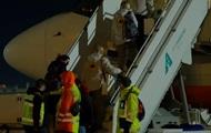 Появилось видео вылета самолета за украинцами в Ухань