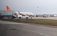 В аэропорту Борисполь приземлился самолет из Уханя