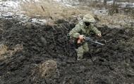 Минобороны показало последствия обстрелов на Луганщине