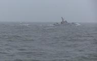 Украинские корабли провели стрельбы на Азове