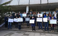 В Україні протестували проти скорочення ефіру регіонального ТБ і радіо