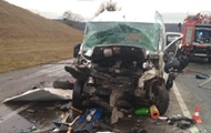Под Львовом столкнулись шесть авто, пострадал ребенок