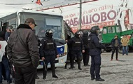 """Столкновения на """"Барабашово"""" в Харькове: в полицию доставили 20 человек"""
