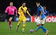 Матч Барселона - Наполи в Лиге чемпионов могут отменить из-за коронавируса