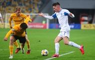 Динамо вышло в полуфинал Кубка Украины, обыграв Александрию