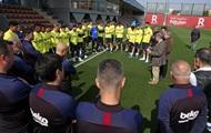 Барселона прекратила тренировки и любую активность
