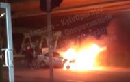 За прошлые сутки в Киеве сгорели четыре авто