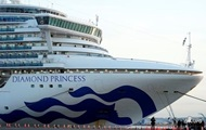 В Киев прилетел экипаж лайнера Diamond Princess