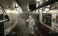 В Киеве дезинфицируют остановки и транспорт
