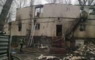 В Киеве горела база отдыха: есть жертвы