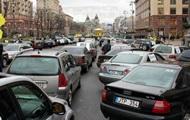 Автомобильное сообщение с Киевом перекроют завтра в полдень