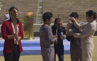 Олимпийский огонь передали оргкомитету Игр-2020