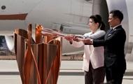 В Японию доставили олимпийский огонь