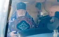 """Минск для """"защиты"""" от COVID-19 окропили из вертолета святой водой"""