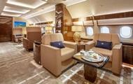 В сети показали салон роскошного частного самолета