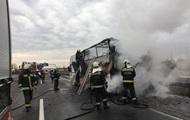 В Угорщині горів автобус з українцями