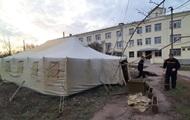 На Донбассе появились пункты сортировки для заболевших COVID-19