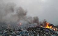 На Миколаївщині другу добу горить сміттєзвалище