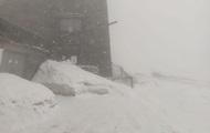 В конце весны Карпаты засыпало снегом: фото с горы Поп Иван