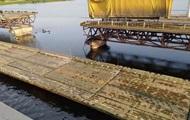 На Дніпропетровщині не відновили рух на місці зруйнованого моста