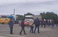 Протестующие перекрыли въезд в Черноморский порт