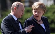 Путин и Меркель встретились для переговоров в Москве