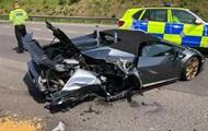 Британець розбив Lamborghini через 20 хвилин після покупки