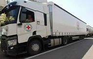 Червоний Хрест направив гуманітарний вантаж у Донецьк