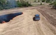 Это была не случайность: украинцев взволновало видео поджога полей на Донбассе