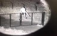 На Харківщині порушник кордону потрапив на відео