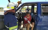 В Днепропетровской области пять человек пострадали в ДТП