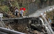 Мощный тайфун разрушает Японию. Тысячи людей оказались заложниками. Есть жертвы. ФОТО. ВИДЕО