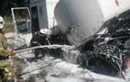 На Полтавщині в ДТП потрапив нафтовоз
