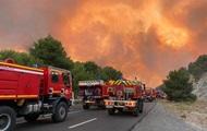 На юге Франции пылают масштабные пожары