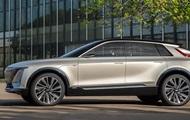 Представлен первый электромобиль Cadillac