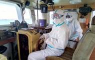 В порт Украины зашло судно с зараженным COVID экипажем