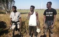 Прикордонники на Миколаївщині затримали трьох нелегалів з Африки