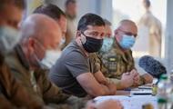 Зеленський на Донбасі обговорив роботу ТКГ