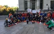 Криворізькі гірники припинили протест біля офісу президента